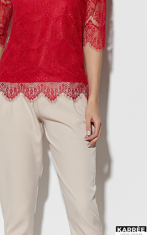 Блуза Зоуи, Красный - фото 3