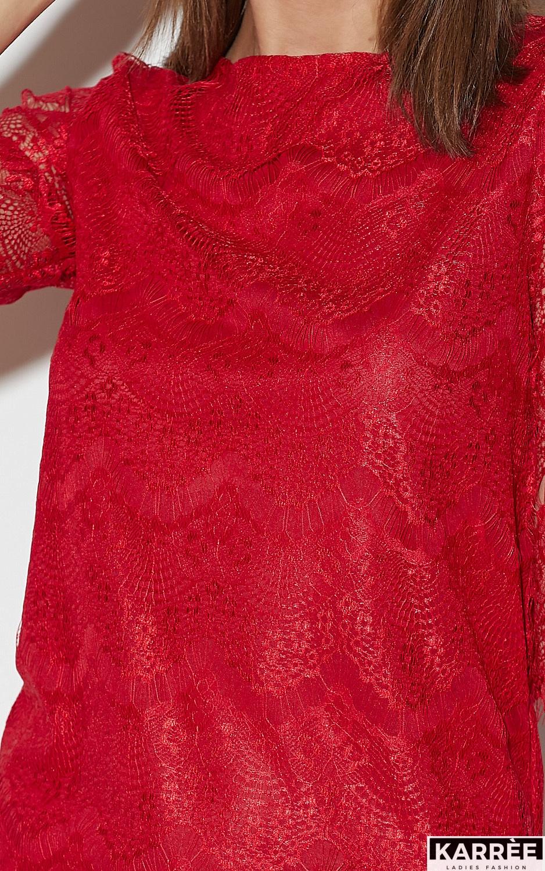 Блуза Зоуи, Красный - фото 6