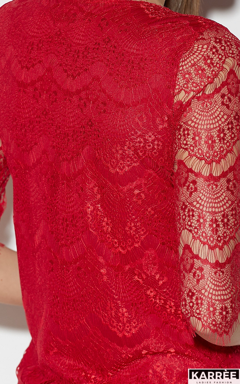 Блуза Зоуи, Красный - фото 7