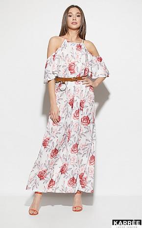Платье Индиго, Белый - фото 2