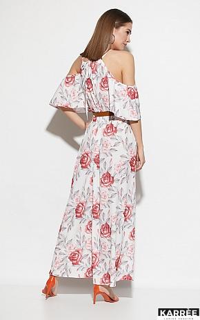 Платье Индиго, Белый - фото 4