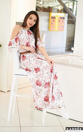 Платье Индиго, Белый - фото 1