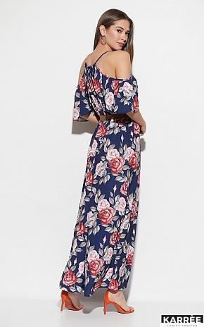 Платье Индиго, Синий - фото 3