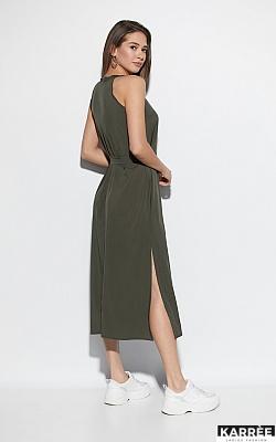 Платье Алиот, Хаки