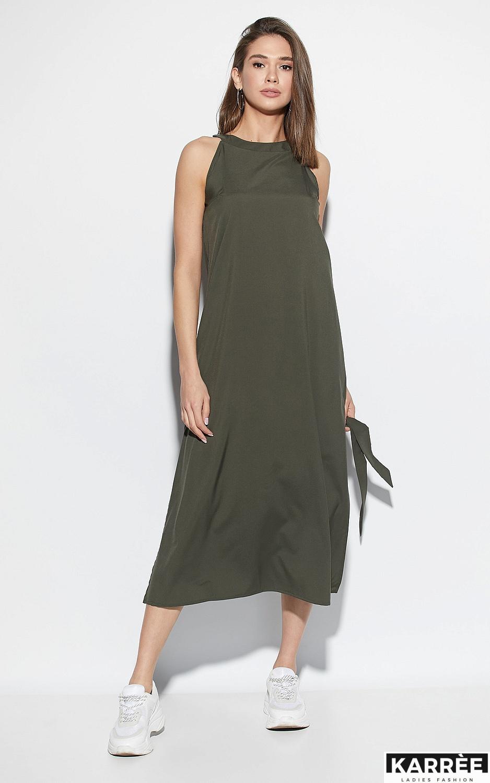 Платье Алиот, Хаки - фото 1