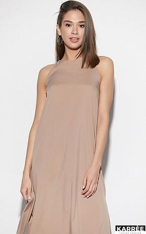 Платье Алиот, Темно-бежевый - фото 2