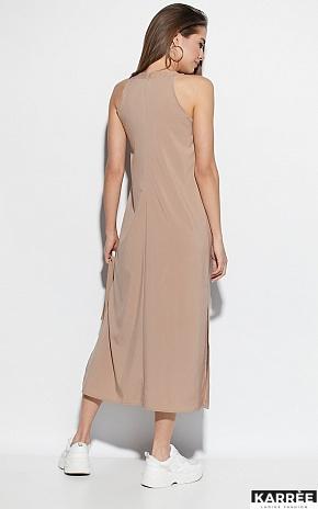 Платье Алиот, Темно-бежевый - фото 4