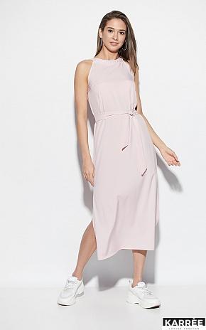 Платье Алиот, Пыльно-розовый - фото 1