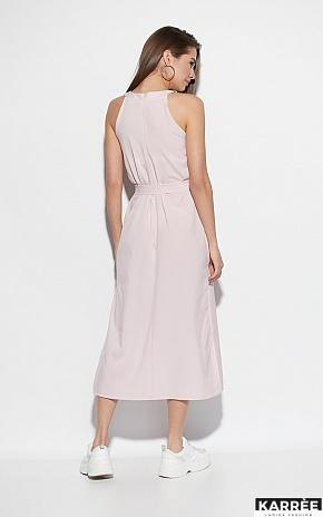 Платье Алиот, Пыльно-розовый - фото 3