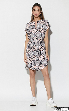 Платье Санси, Комбинированный - фото 2