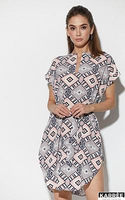 Платье Санси, Комбинированный