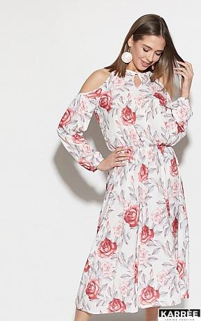 Платье Дельта, Белый - фото 2
