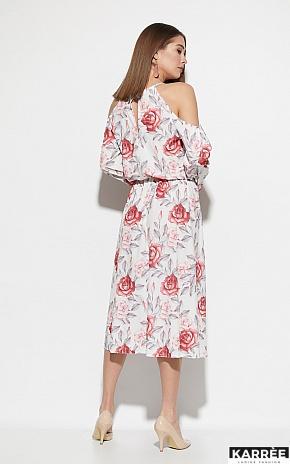 Платье Дельта, Белый - фото 4