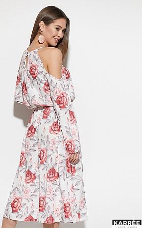 Платье Дельта, Белый - фото 5
