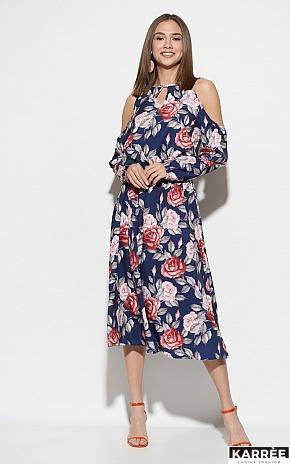 Платье Дельта, Синий - фото 2