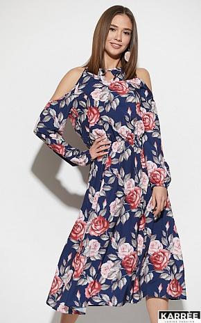 Платье Дельта, Синий - фото 5