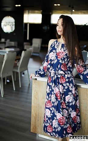 Платье Дельта, Синий - фото 1