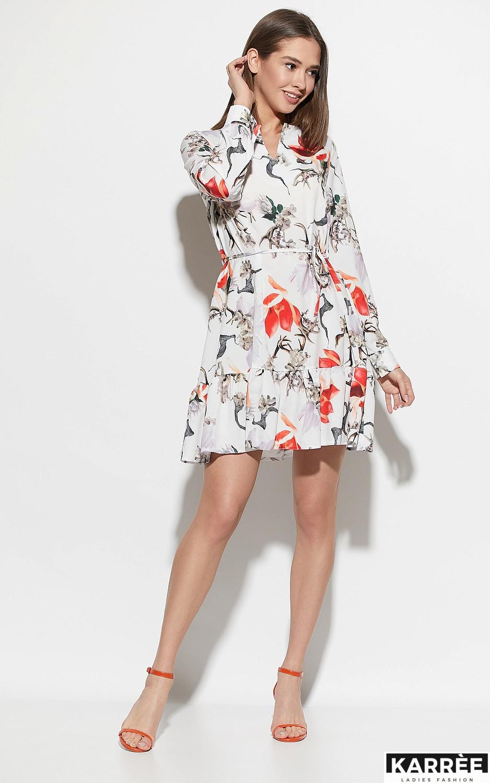 Платье Майорка, Белый - фото 3
