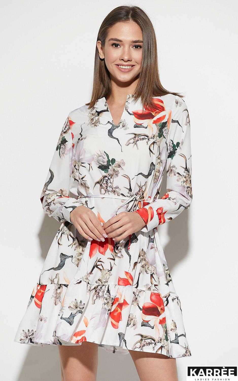 Платье Майорка, Белый - фото 1