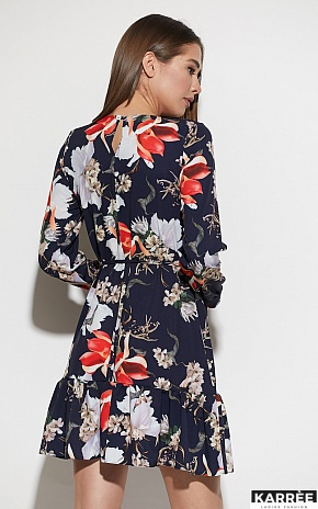 Платье Майорка, Темно-синий - фото 3