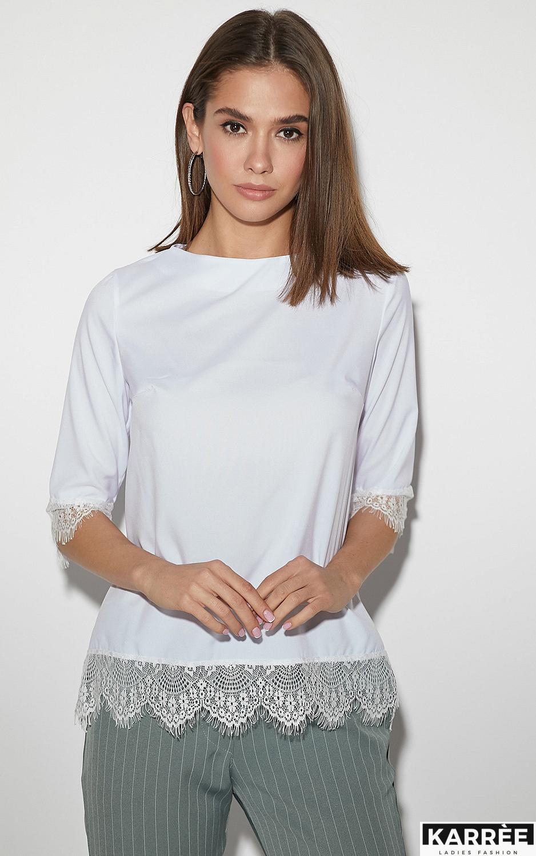Блуза Мэри, Белый - фото 1