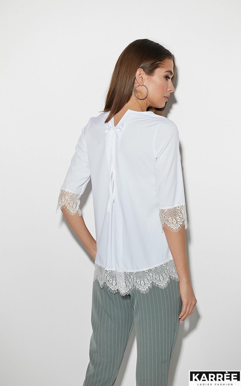 Блуза Мэри, Белый - фото 2