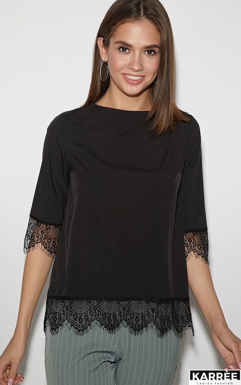 Блуза Мэри, Черный - фото 2