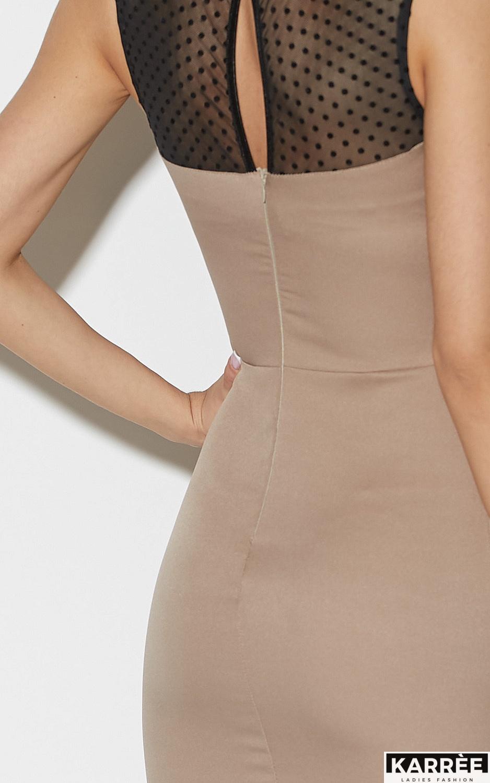 Платье Ким, Темно-бежевый - фото 7