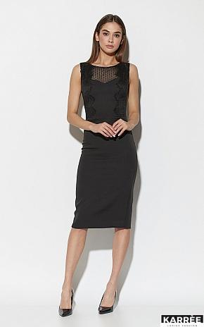Платье Ким, Черный - фото 1