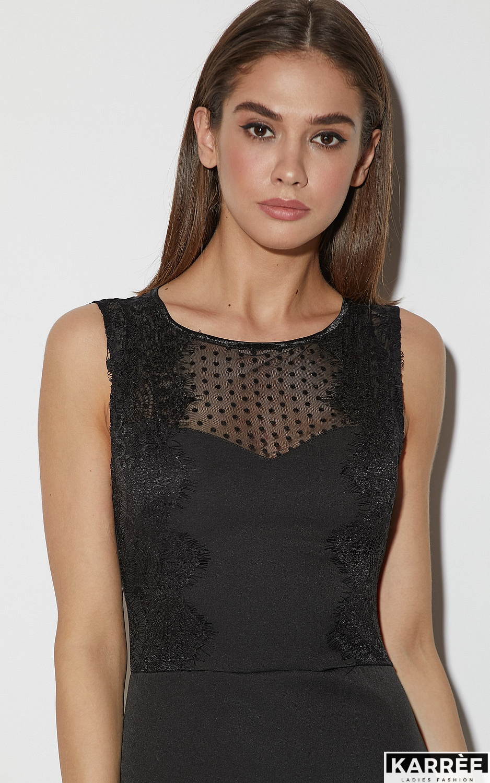 Платье Ким, Черный - фото 3