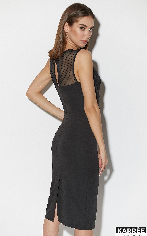 Платье Ким, Черный - фото 6