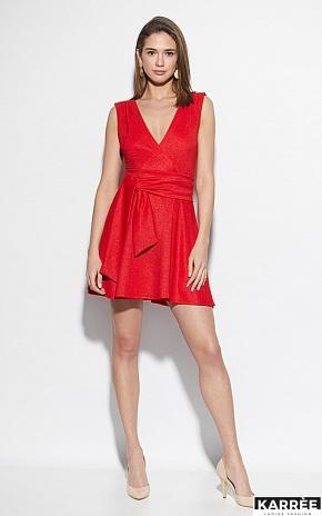 Платье Лия, Красный - фото 1