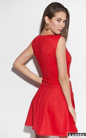 Платье Лия, Красный - фото 3