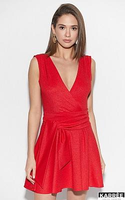 Платье Лия, Красный