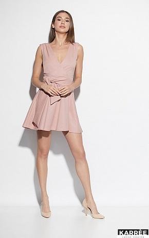 Платье Лия, Пудровый - фото 3