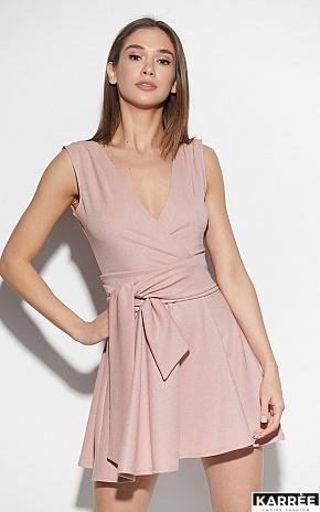 Платье Лия, Пудровый - фото 1