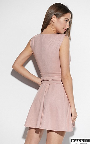 Платье Лия, Пудровый - фото 2