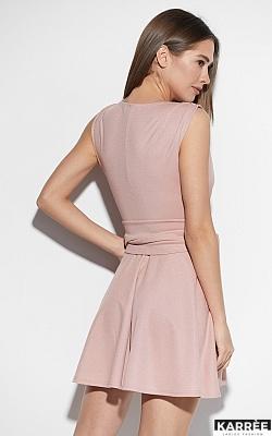 Платье Лия, Пудровый