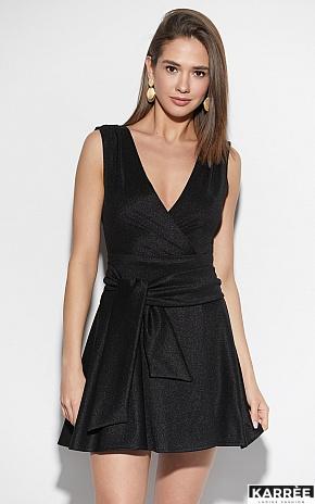 Платье Лия, Черный - фото 1