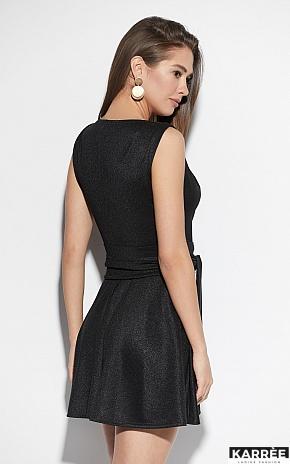 Платье Лия, Черный - фото 2