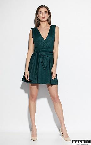 Платье Лия, Темно-зеленый - фото 1