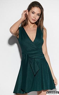 Платье Лия, Темно-зеленый