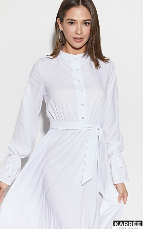 Платье Азия, Белый - фото 2