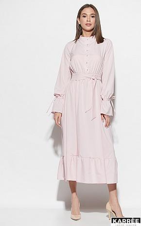 Платье Азия, Пыльно-розовый - фото 5