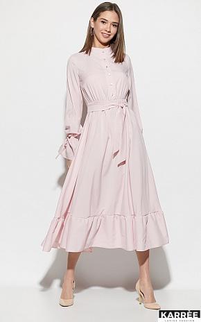 Платье Азия, Пыльно-розовый - фото 1