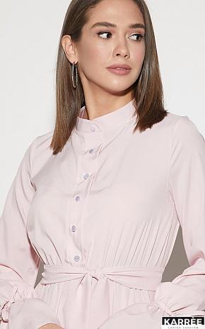 Платье Азия, Пыльно-розовый - фото 3