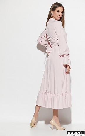 Платье Азия, Пыльно-розовый - фото 4