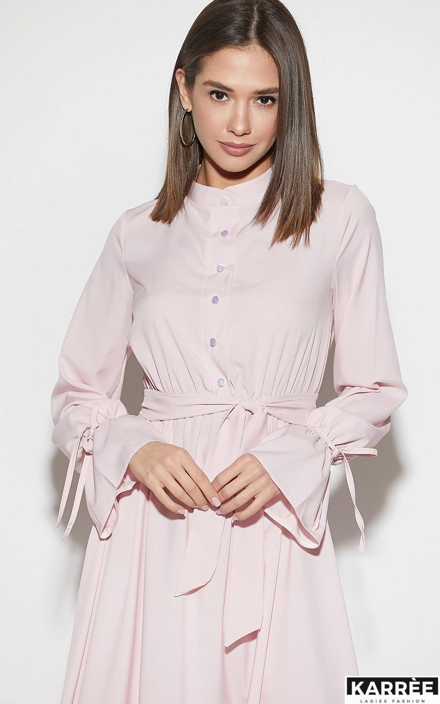 Платье Азия, Пыльно-розовый - фото 2