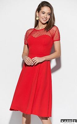 Платье Левант, Красный