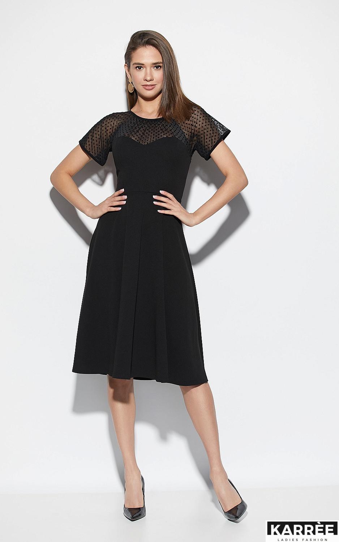Платье Левант, Черный - фото 1